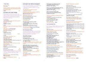 catholic funeral mass template catholic funeral mass program template