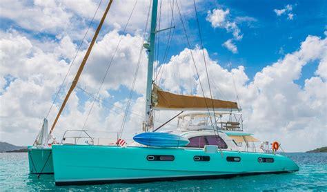 kestrel catamaran bvi sailing vacations for couples carefree yacht charters 174