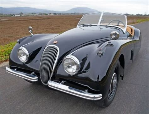 buy used 1952 jaguar xk120 ots roadster all numbers matching original colors stunning in
