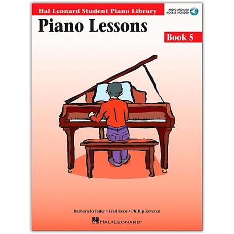you at piano books hal leonard piano lessons book 5 book cd package hal