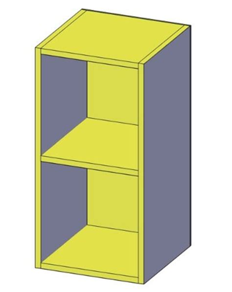 Cube Nightstand by The College Cube Nightstand