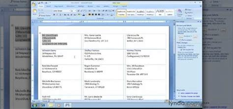 Word Printing Labels How To Create Envelopes And Labels In Microsoft Word 2007