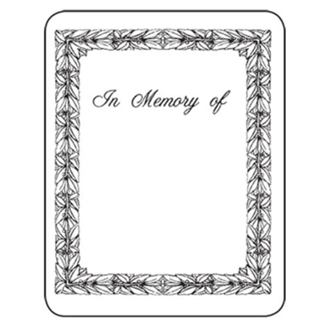 bookplates laser inkjet bookplates in memory of 150 pkg