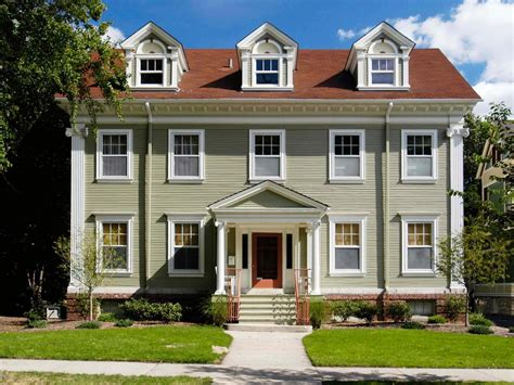colonial house design photos hgtv