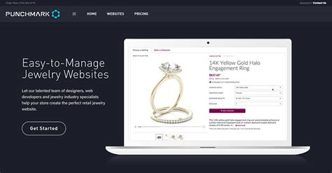 Jewelry Websites by Punchmark Jewelry Website Design Websites For Jewelers