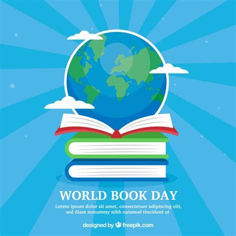 libro the day of the fondo para el d 237 a internacional del libro con globo descargar vectores gratis