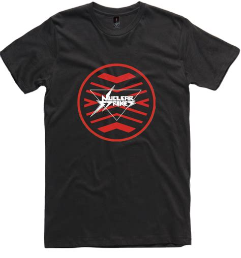 T Shirt Sila Ke 5 ekstrim nuclear strikes fan club t shirt