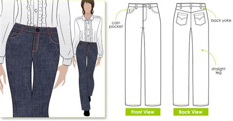 jeans pattern maker jilly jean style arc