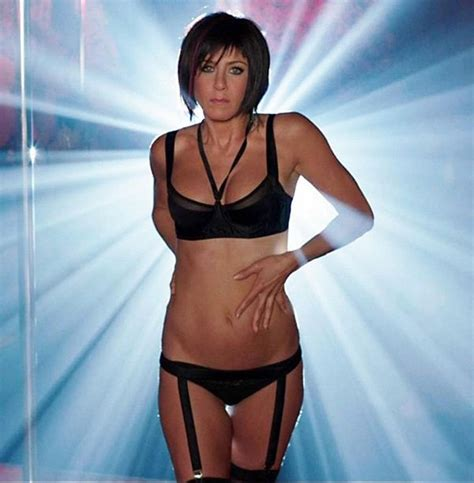 jennifer aniston in lingerie and stripper heels leaked
