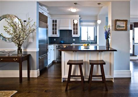 kitchens with blue walls my fantasy home blue accent blue subway tiles contemporary kitchen anne chessin