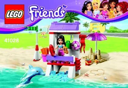 Lego 41028 Emmas Lifeguard Post lego s lifeguard post 41028 friends
