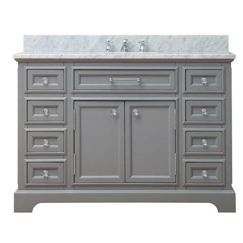 48 single sink bathroom vanity darby home co colchester 48 quot single sink bathroom vanity