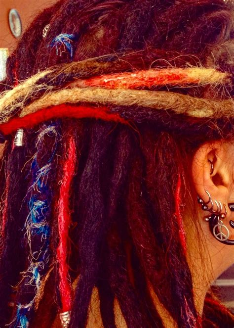 colored dreadlocks 304 best colored dreads colorful dreads images on