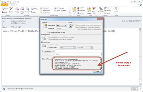 how to view email headers in outlook 2010 how to view e mail message headers in outlook 2010