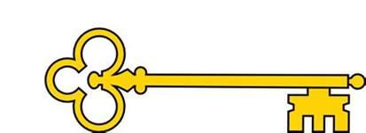 Gold Key Clipart golden key clip at clker vector clip