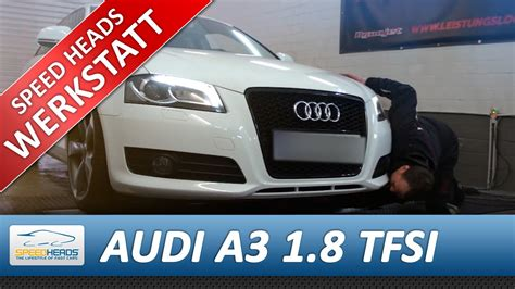 Audi A3 Chiptuning by Audi A3 1 8 Tfsi Chiptuning In Verbindung Mit Downpipe