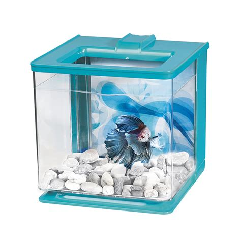 Marina Cooler 5 5l marina betta ez care blue aquarium kit petco