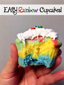 rainbow cupcakes easy recipe justenza com