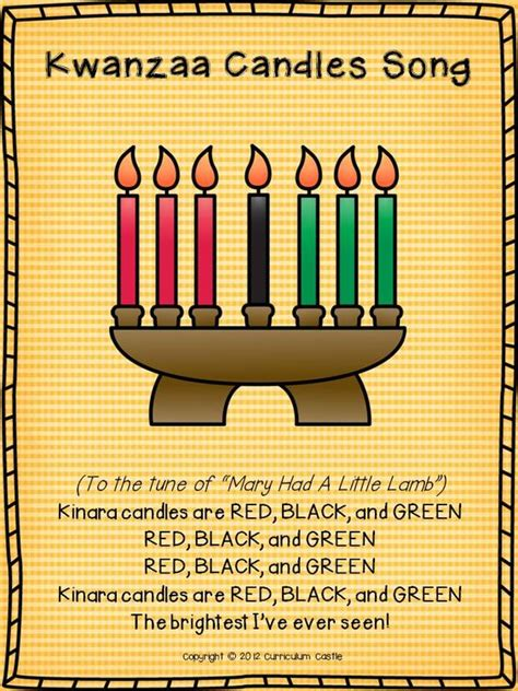 kwanzaa songs and candles on pinterest