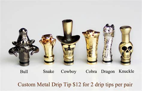 Handmade Drip Tips - custom metal drip tip ecigchain store