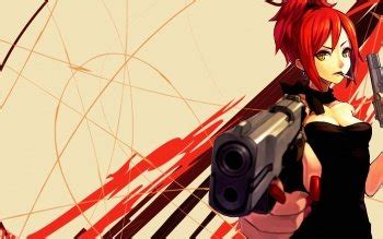 anime gun girl hd wallpapers background images