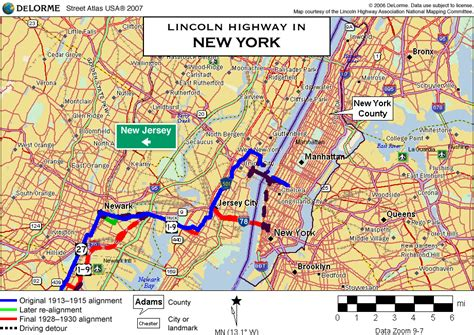 road map of new york new york highway map afputra