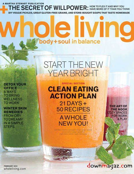 Whole Living Detox 2012 by Whole Living Soul February 2012 187 Pdf