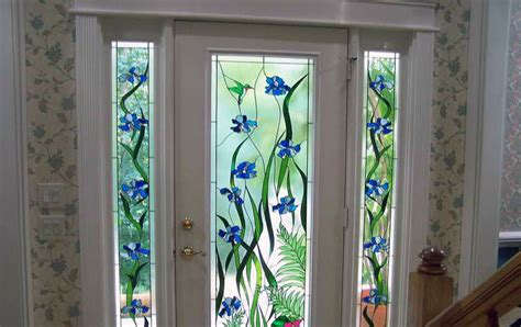 Door Glass Design Stained Glass Home Window Installation Chicago Il