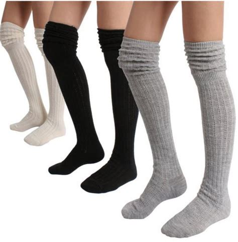 diy thigh high socks from the knee socks on sale a thrifty recipes