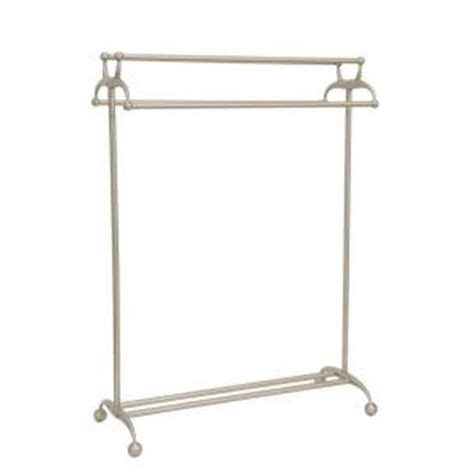 Free Standing Towel Racks For Bathrooms Brushed Nickel by Standing Towel Rack Brushed Nickel