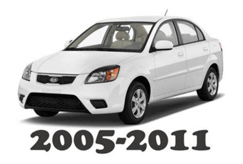 2011 kia rio manual free download 2005 2011 kia rio factory service repair manual download downloa