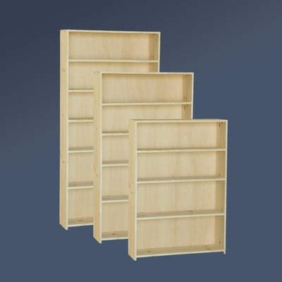 unfinished bookshelves unfinished bookcases woodworker magazine