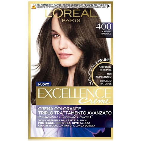 L Oreal Excellence Creme l oreal excellence creme n 400 castano naturale