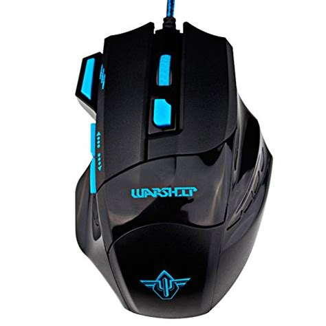 Mouse Gaming Usb computer mouse gaosa ergonomic 5500dpi usb gaming mouse 7 button led optical wired pro