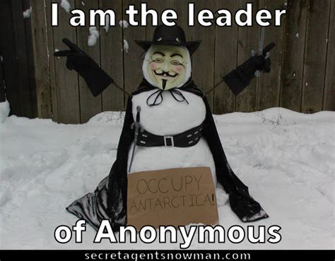 Anon Meme - i am the leader of anonymous