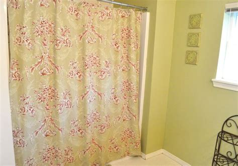 how to make a curtain into a shower curtain turn a bed sheet into a shower curtain make and takes