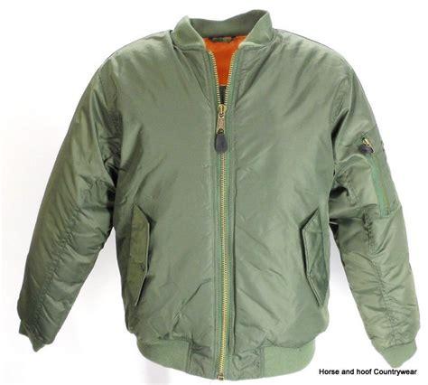 Kuas Cat 1 Home Care Avian mil ma1 flight jacket green