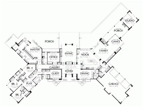 How Big Is 5 000 Sq Ft Updated One Story House Plans 5000 Square