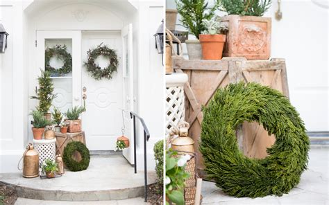 pottery barn inspired fall front porch five tips to style your front porch for the holidays