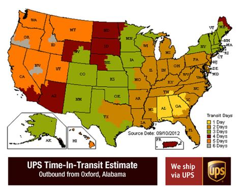 ups transit map customer service supply room us