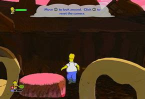 15 Jump Marshmelow the simpsons ps2 walkthrough and guide page 24