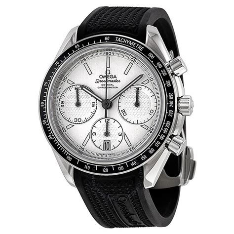 Automatic Silver List White omega speedmaster racing automatic chronograph silver stainless steel s