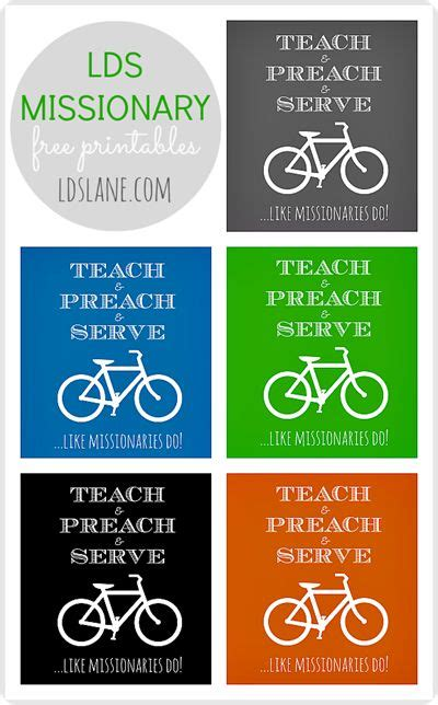 printable missionary tags 1000 images about primary on pinterest spotlight