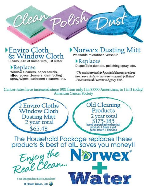 norwex boat cleaner save with the norwex household package norwex