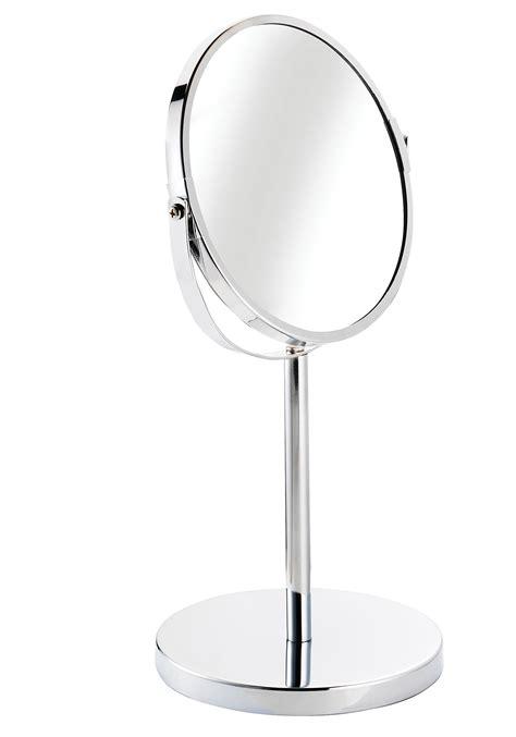 Pedestal Magnifying Mirror croydex essentials circular magnifying pedestal mirror qm106441