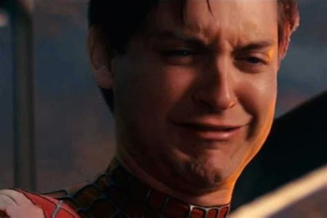 Peter Parker Meme Face - the 20 ugliest celebrity cry faces mandatory