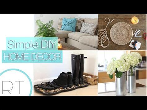 Simplify Home Decor by Simple Diy Home Decor Youtube