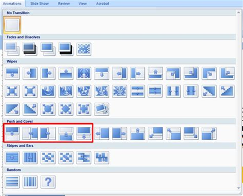 powerpoint tutorial transitions create a basic presentation in powerpoint 2007 powerpoint