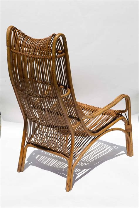 Wicker Armchairs Sale by Highback Rattan Armchair For Sale At 1stdibs