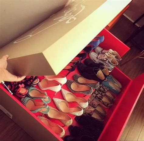 shoebox shoe storage christian louboutin shoe box storage